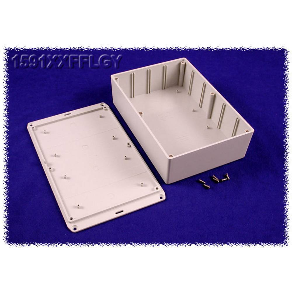Universalkabinet 221 x 150 x 64 ABS Grå Hammond Electronics 1591XXFFLGY 1 stk