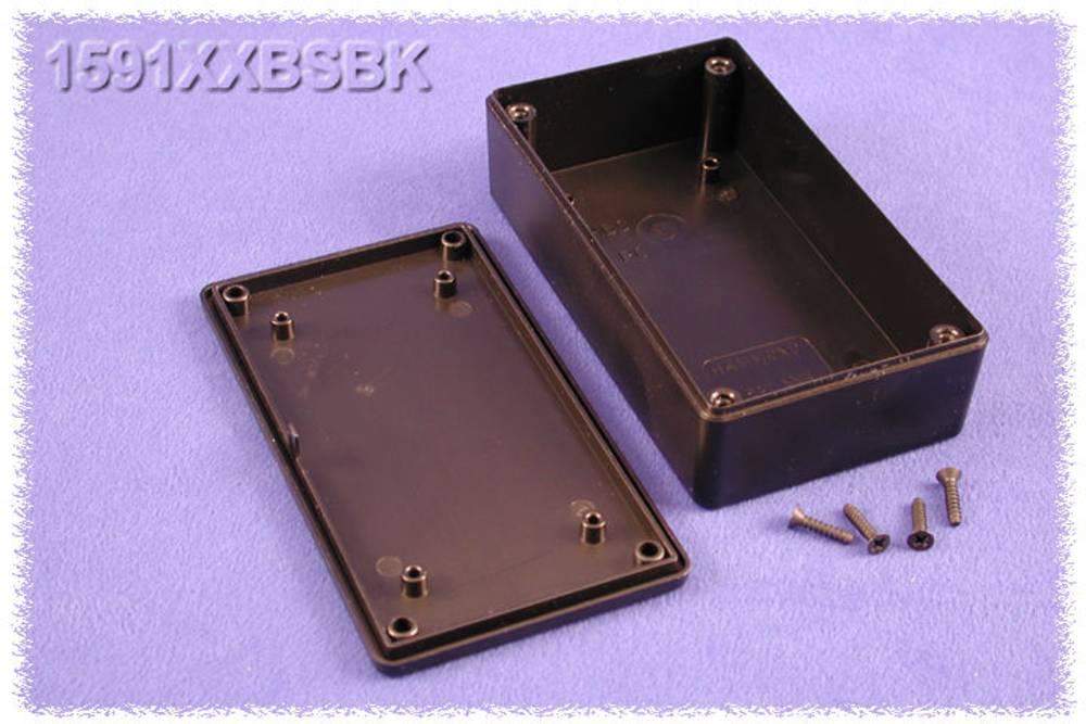 Universalkabinet 113 x 63 x 32 ABS Sort Hammond Electronics 1591XXBSBK 1 stk