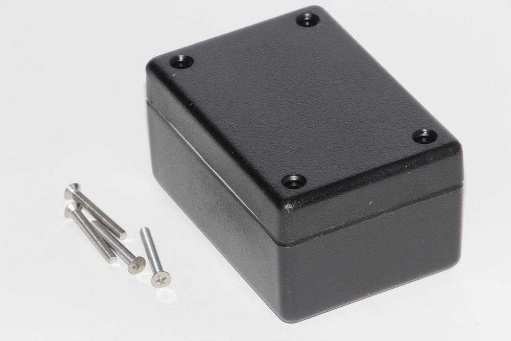 Universalkabinet 81 x 56 x 40 ABS Sort Hammond Electronics 1594BWBK 1 stk