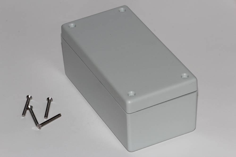 Universalkabinet 131 x 66 x 55 ABS Grå Hammond Electronics 1594DWGY 1 stk