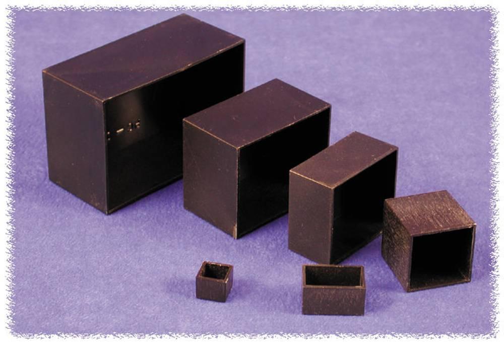 Støbt kabinet 50 x 50 x 30 ABS Sort Hammond Electronics 1596B108 1 stk