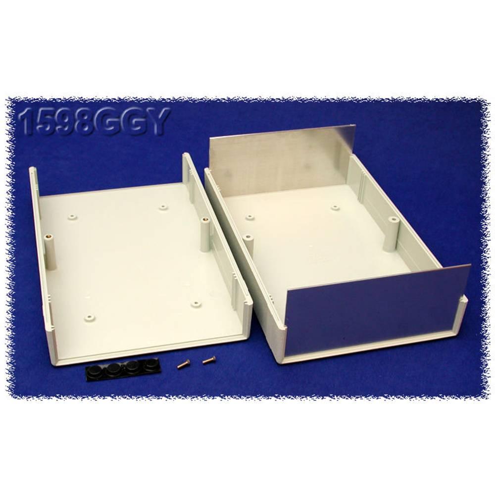 Instrumentkabinet 250 x 160 x 76 ABS Grå Hammond Electronics 1598GGY 1 stk
