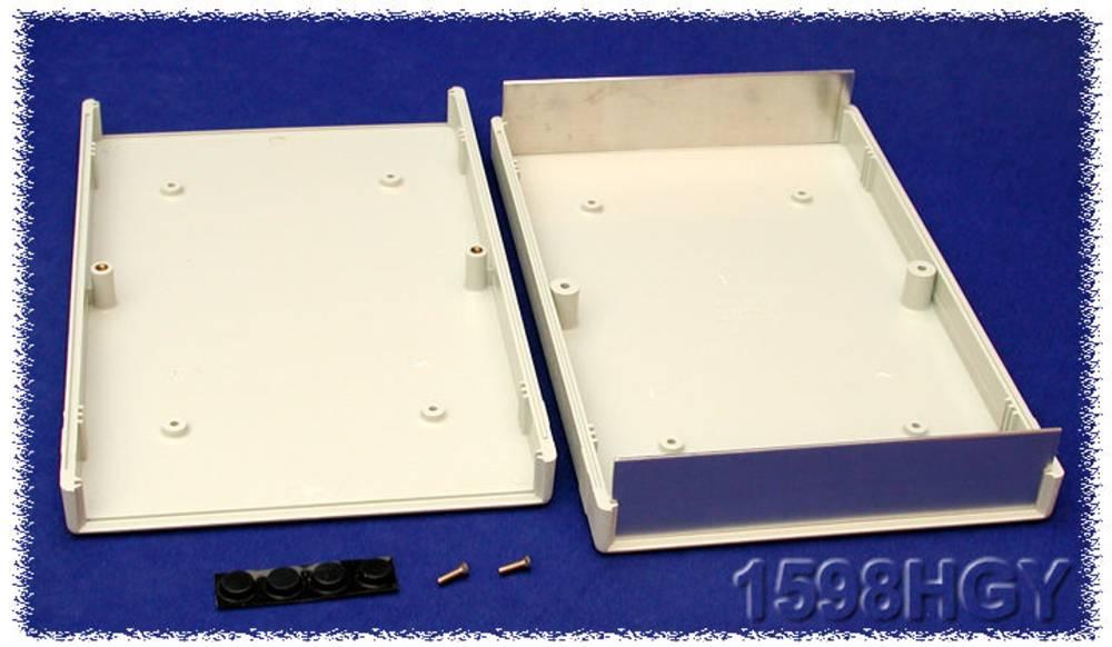 Instrumentkabinet 280 x 200 x 40 ABS Grå Hammond Electronics 1598HGY 1 stk