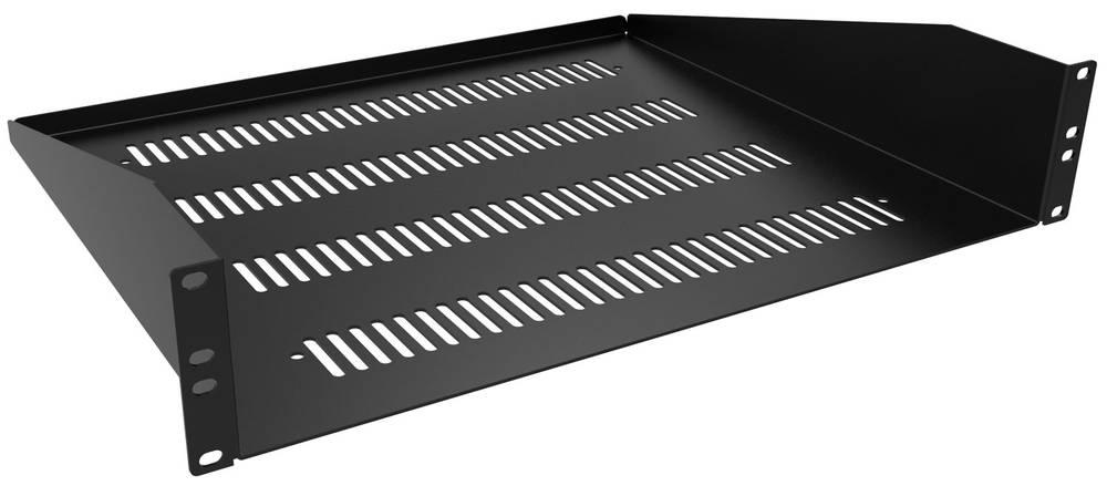 Opbevaringsrum Hammond Electronics RASV190320BK1 Ventilation (L x B x H) 89 x 483 x 508 mm Sort 1 stk