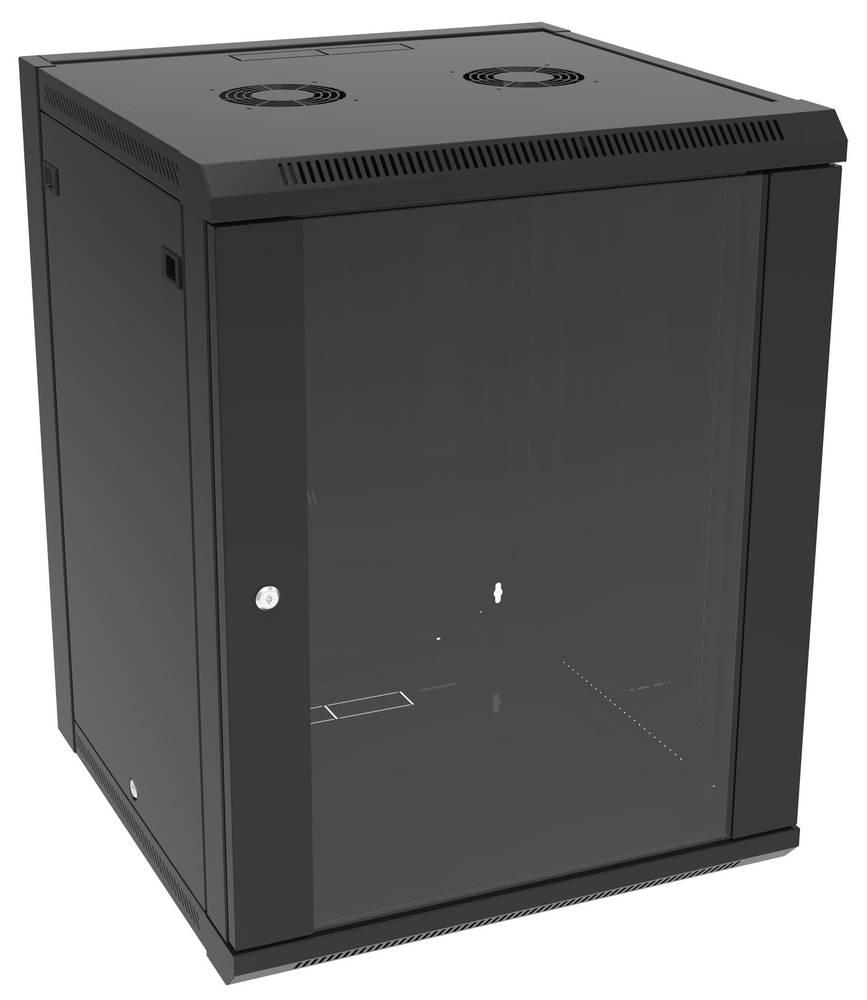 19 tommer installationskabinet Hammond Electronics RB-FW9 Stål Sort 1 stk