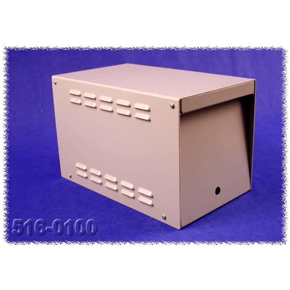 Transformatorkabinet Hammond Electronics 516-0010 365 x 216 x 235 Aluminium Grå 1 stk
