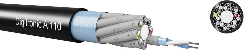 Modulacijski kabel – AES/EBU Digitronic A110 Kabeltronik 8 x 2 x 0.14 mm crna, roba na metre