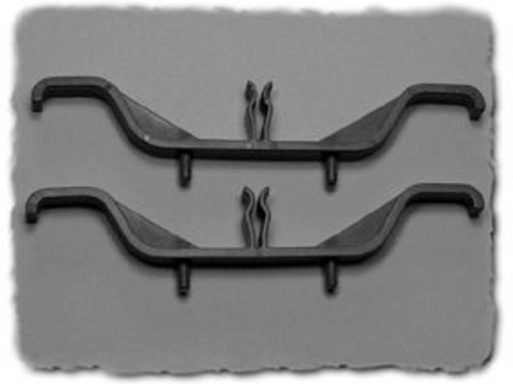 Kabelbærer Hammond Electronics M795 M795 Plast Grå (L x B x H) 122 x 10 x 20 mm 2 stk