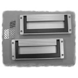 Kabinetgreb Hammond Electronics M3255-2001 Sort (L x B x H) 193 x 20.5 x 75.5 mm 1 stk