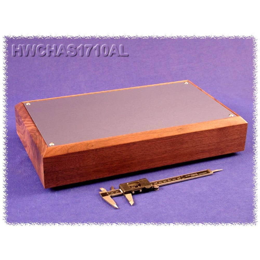 Bundplade 432 x 254 x 76 Aluminium Natur Hammond Electronics HWCHAS1710AL 1 stk