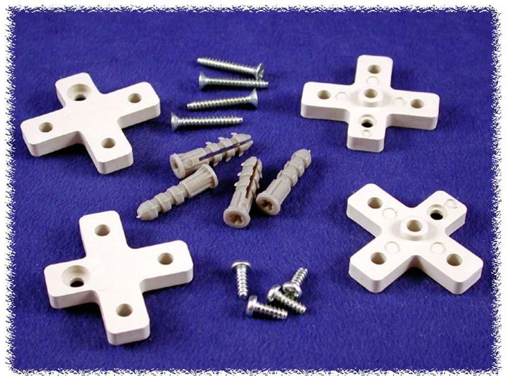 Vægholder Hammond Electronics MF0040 MF0040 Polycarbonat Grå 1 stk