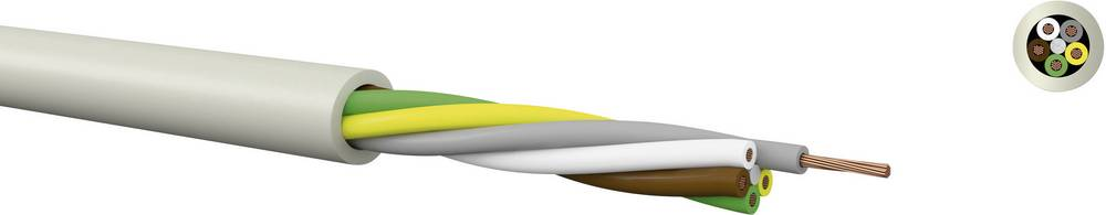 Krmilni kabel LiYY 6 x 0.75 mm sive barve Kabeltronik 10607500 meterski
