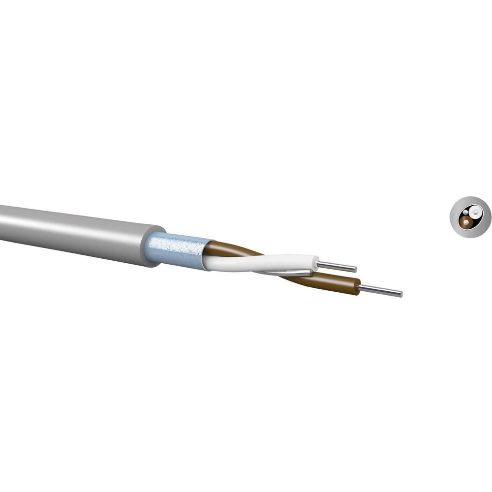 Preklopna žica Yv 2 x 0.5 mm siva Kabeltronik 690205100 S 250 m