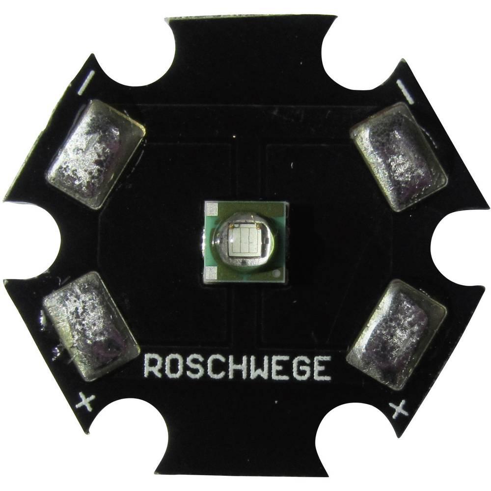HighPower LED globoko rdeča 1 W 2.5 V 350 mA Star-DR660-01-00-00