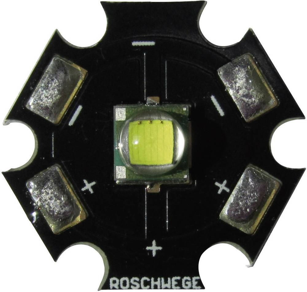 HighPower LED nevtralno bela 10 W 260 lm 3.1 V 1500 mA Star-W5000-10-00-00