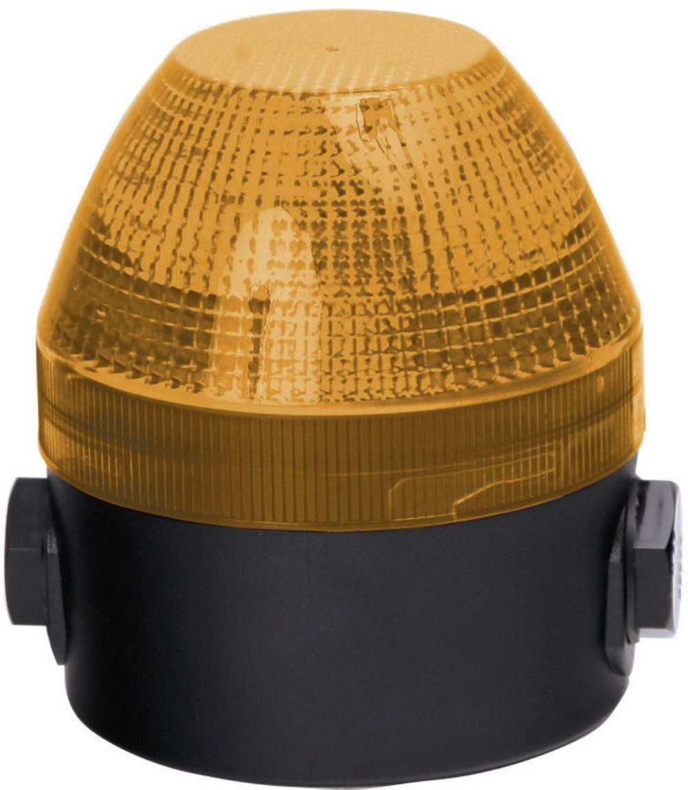 Signalna luč Auer Signalgeräte NES oranžna neprekinjena luč, utripajoča luč 110 V/AC, 230 V/AC