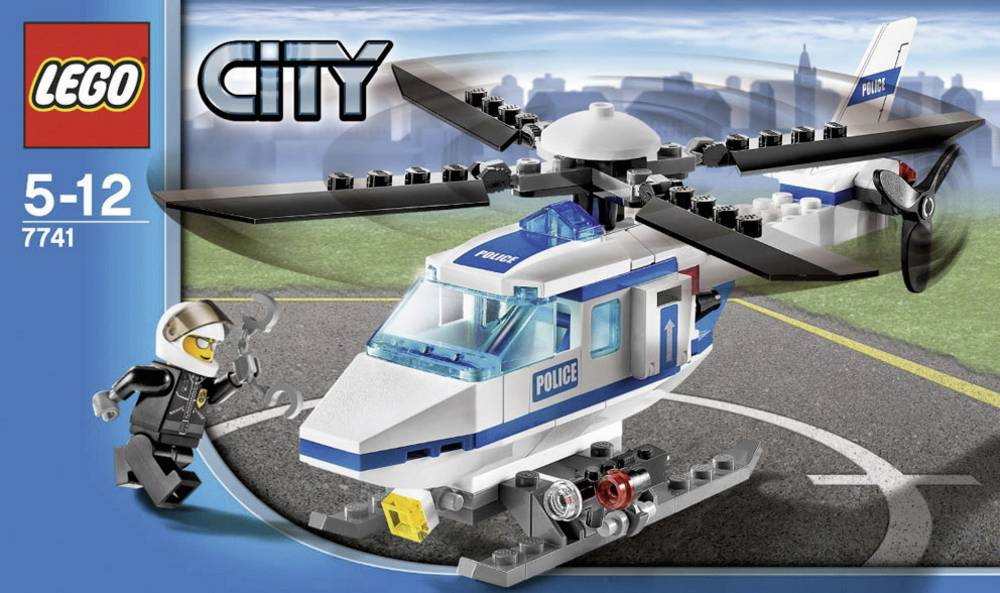 lego174 city 7741 police helicopter from conrad electronic uk