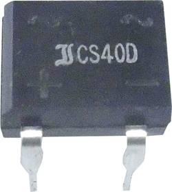 Mosni ispravljač TRU Components TC-B250D DIL-4 600 V 1 A jednofazni