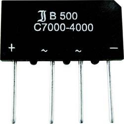 Mosni ispravljač TRU Components TC-B250C1500B SIL-4 500 V 2.3 A jednofazni