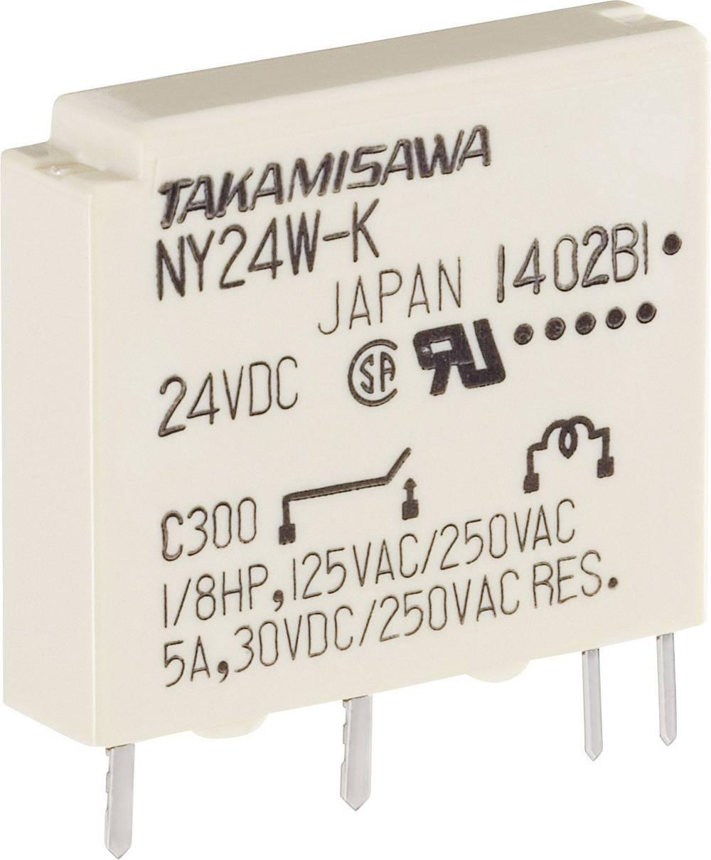 Printrelæ 5 V/DC 5 A 1 x sluttekontakt Takamisawa NY-05W-K-IE 1 stk