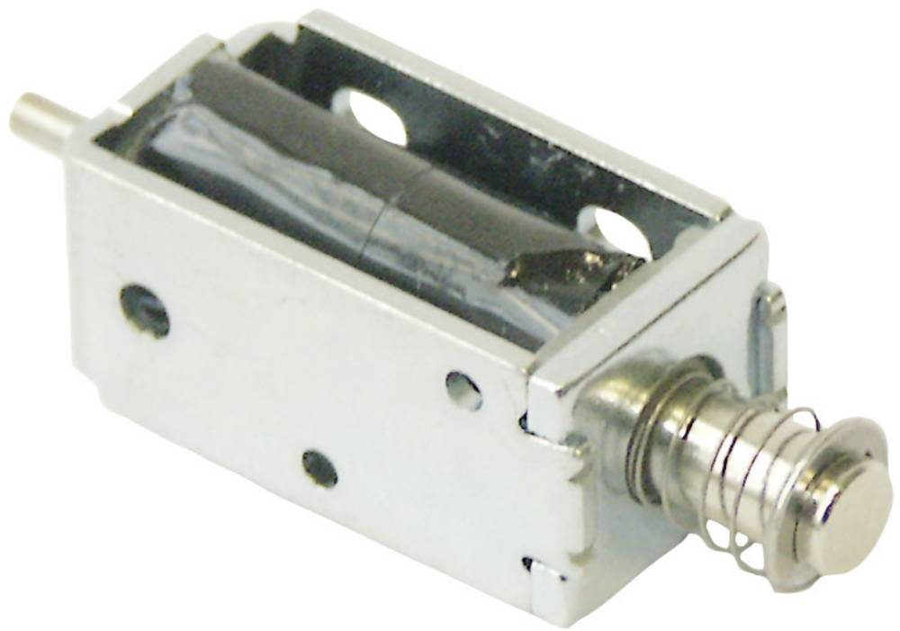 Magnet s pločevinastim nosilcem Intertec ITS-LS1110B-D 12 V/DC Pritrditev M3 Model potisen