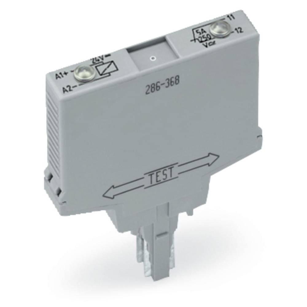 Vtični releji 24 V/DC 5 A 1 odklep WAGO 286-368 1 kos