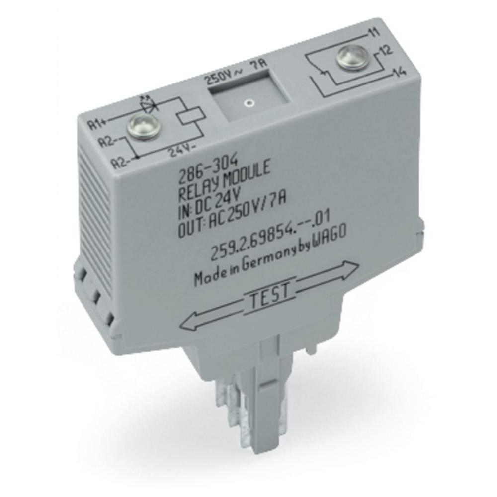 Vtični releji 24 V/DC 7 A 1 x preklopni WAGO 286-304 1 kos