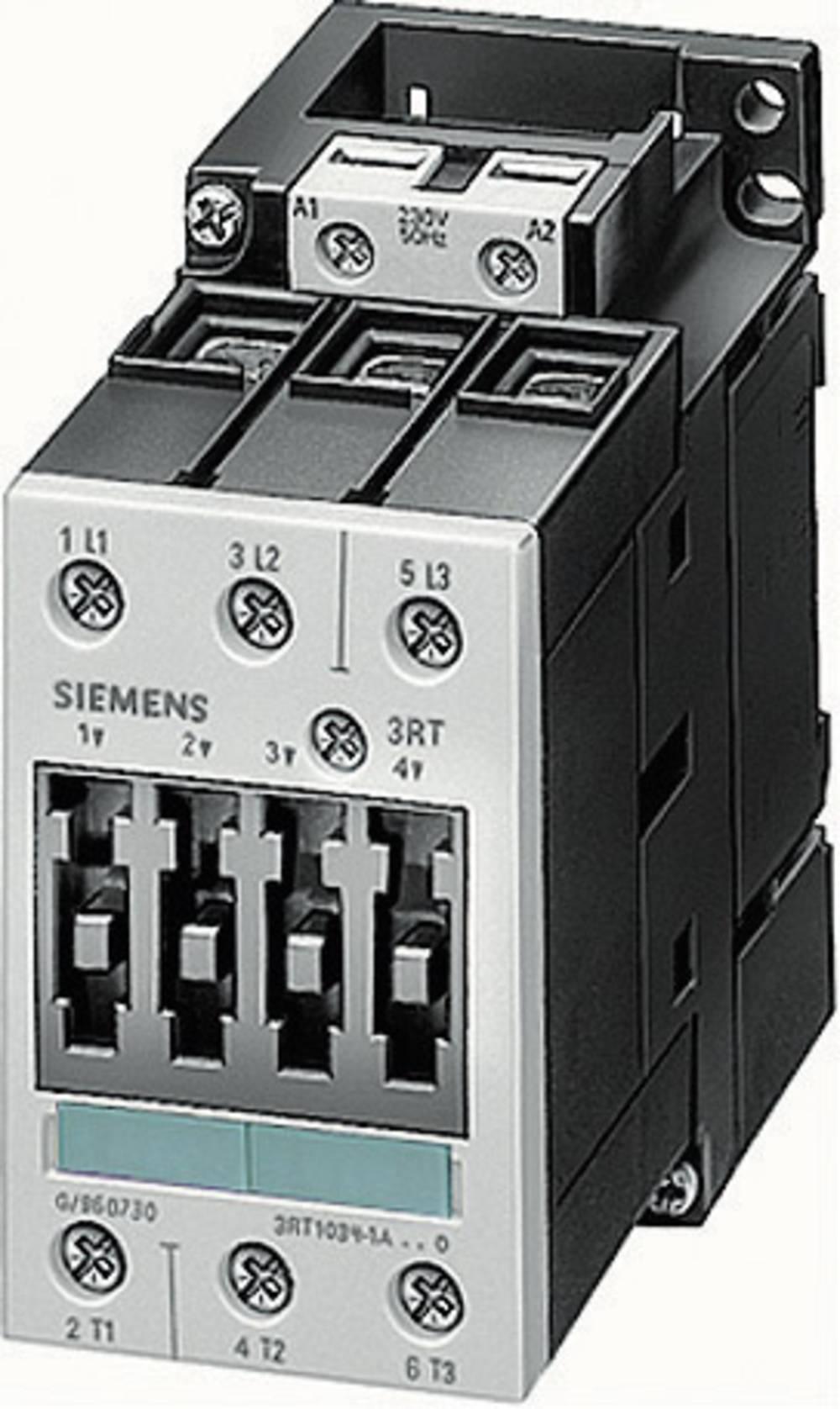 Kontaktor 1 kos 3RT1036-1AP00 Siemens 3 zapiralni 22 kW 230 V/AC 50 A