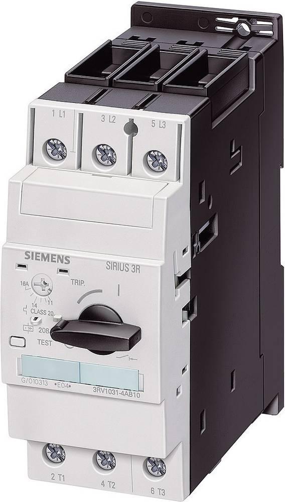 Snažan prekidač 1 kom. Siemens 3RV1031-4DA10 3 zatvarač, postavljanje (struja): 18 - 25 A preklopni napon (maks.): 690 V/AC (Š x
