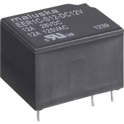 Printrelæ 6 V/DC 12 A 1 x skiftekontakt EER1 6VDC 1 stk
