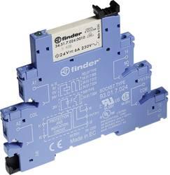 Relækomponent 1 stk Finder 38.51.7.024.0050 Nominel spænding: 24 V/DC Brydestrøm (max.): 6 A 1 x skiftekontakt