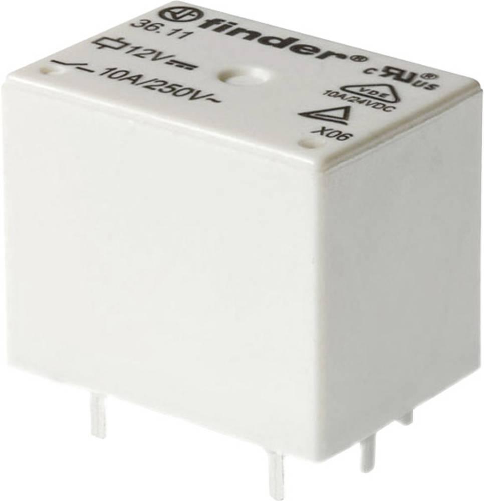 DC-relej za tiskanu pločicu Finder 36.11.9.048.4001, 48V/DC, 10A, 30V/DC/250 V/AC, 2500 VA