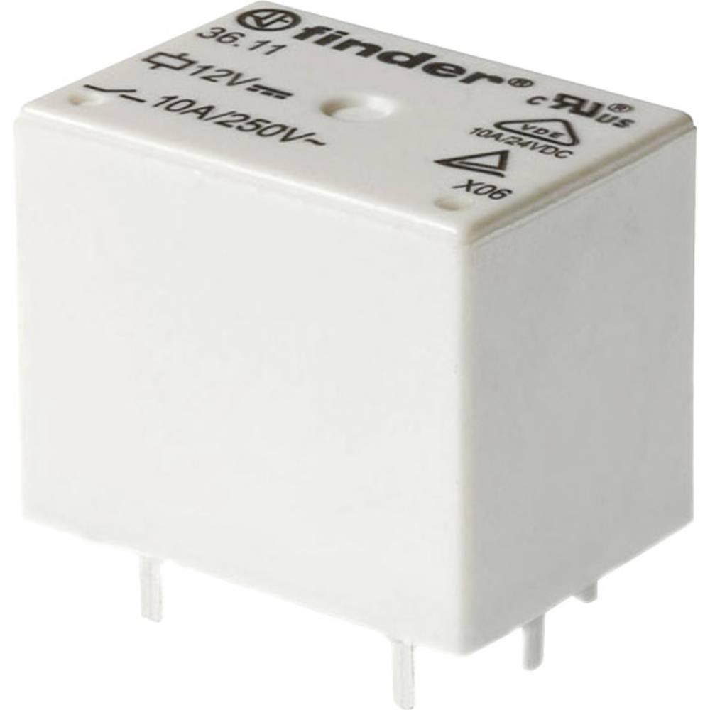 DC-rele za tiskano vezje Finder 36.11.9.005.4001, 5 V/DC, 10A, 30 V/DC/250 V/AC, 2.500 VA