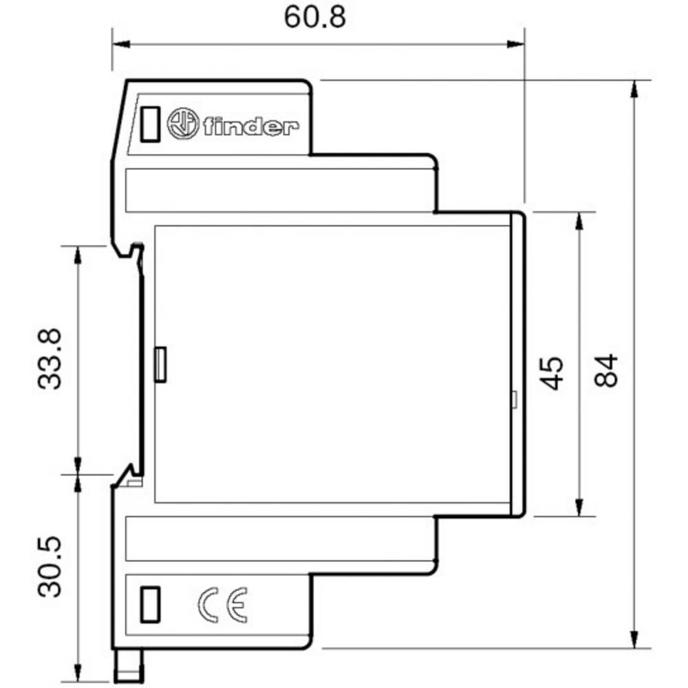 Finder 14.01.8.230.0000 Staircase multiway switch Multifunction 230 ...