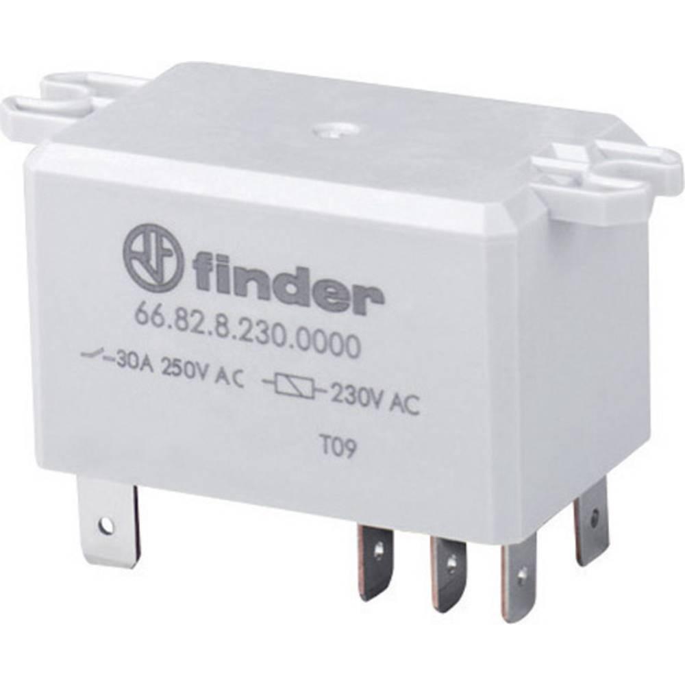 Močnostni rele Finder 66.82.9.024.0300, 24 V/AC, 2 x delovnik., maks. 30 A/250 V/DC