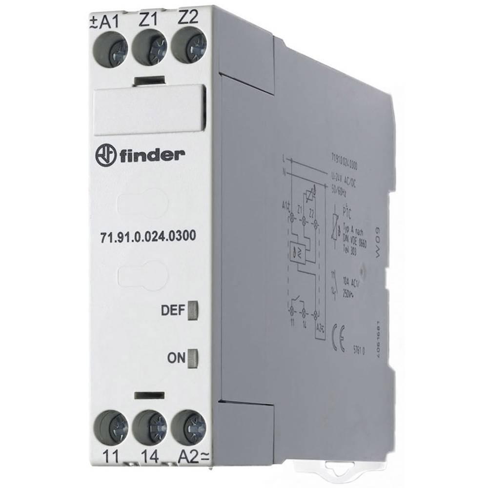 Overvågningsrelæer 230 V/AC 1 x sluttekontakt 1 stk Finder 71.91.8.230.0300 Temperatur