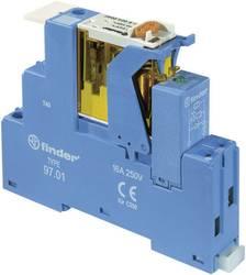 Relækomponent 1 stk Finder 4C.02.9.024.0050 Nominel spænding: 24 V/DC Brydestrøm (max.): 8 A 2 x omskifter