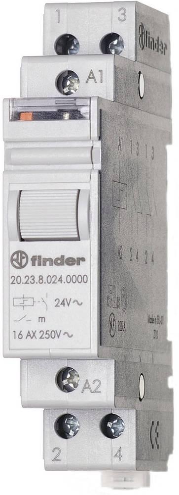 Finder-Impulzno koračno stikalo 20.23.9.012.4000, 12V/DC, 1NO+1NC, 16A Max. 400V/AC
