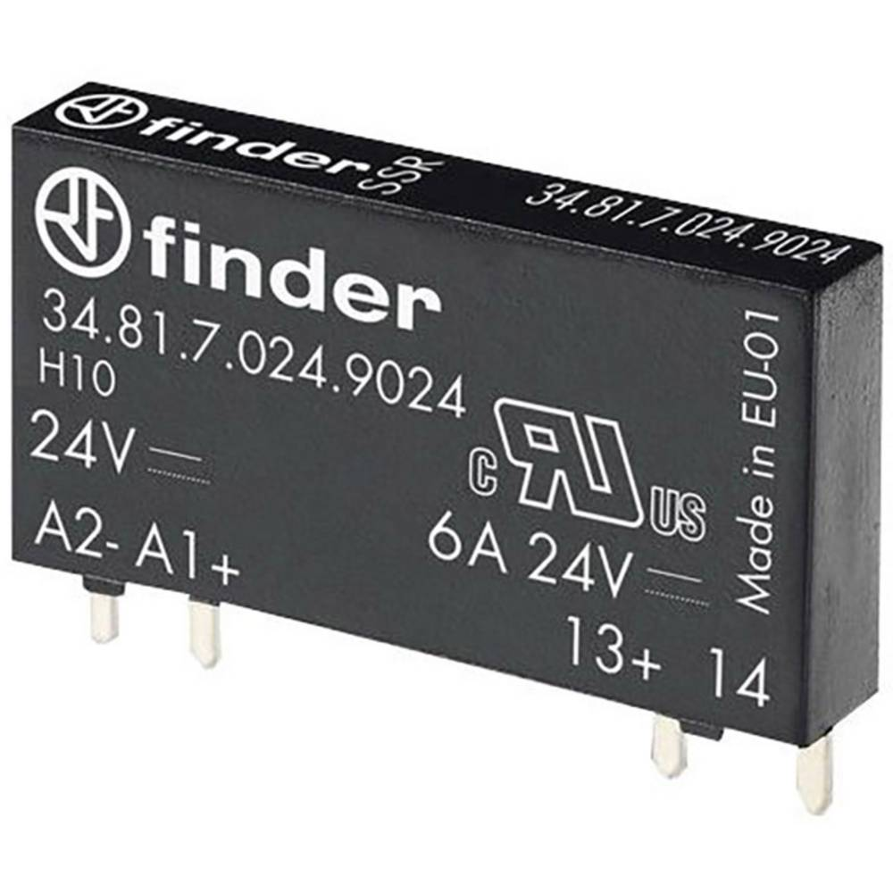 Ssr 1 Pcs Finder 348170609024 Current Load Max 2 A From Solid State Relay