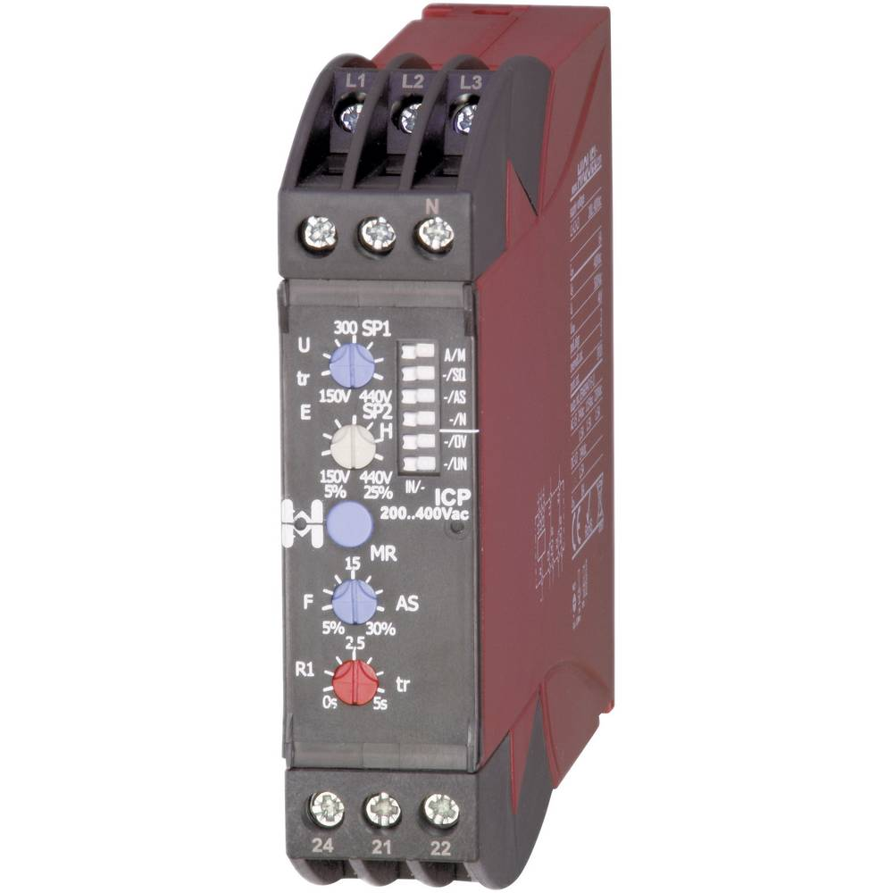 Hiquel ICP 300..500 V/AC trifazni nadzorni rele