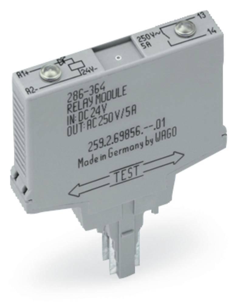 Vtični releji 24 V/DC zapiralni WAGO 286-364/004-000 1 kos