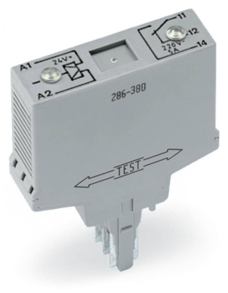 Vtični releji 24 V/DC 6 A 1 x preklopni WAGO 286-380 1 kos