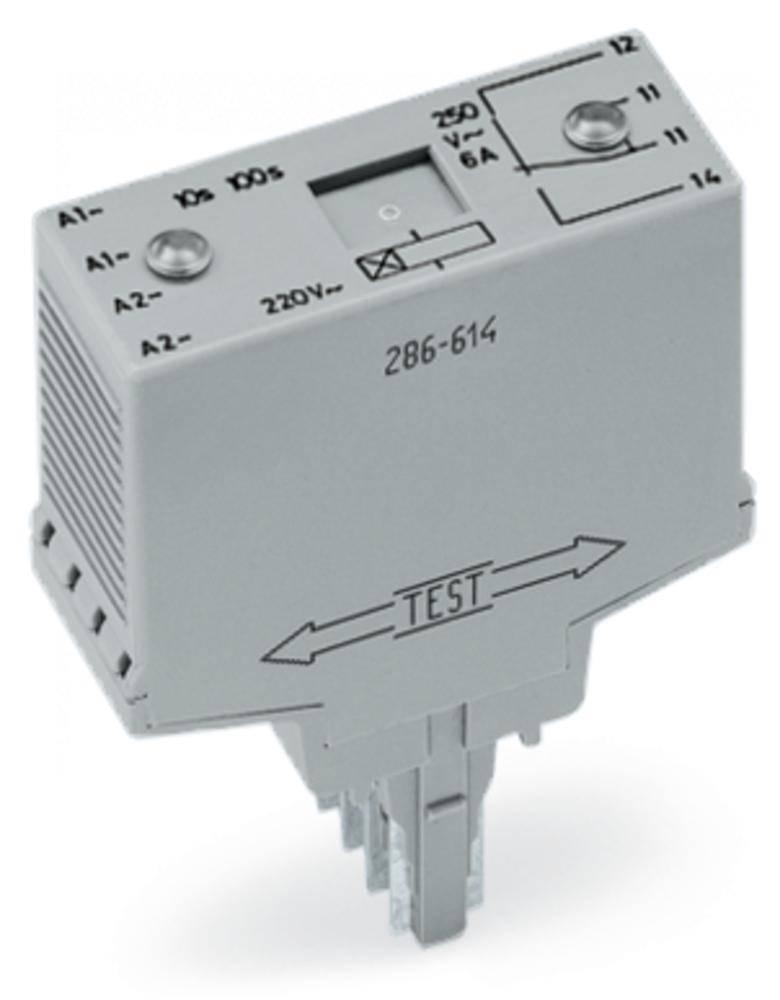 Časovni-relejski modul WAGO 286-604/004-000 1 x preklopni , nazivna napetost 250 V