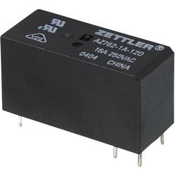 Printrelæ 12 V/DC 16 A 1 x sluttekontakt Zettler Electronics AZ762-1A-12DE 1 stk