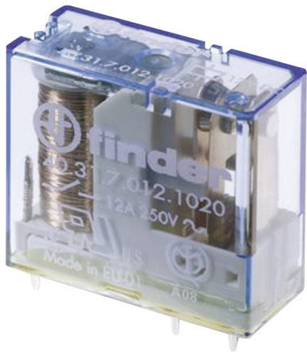 Relej za tiskanu pločicu Finder 40.61.7.012.1320, 12 V/DC, 1x radni k., 16 A, 250 V/AC