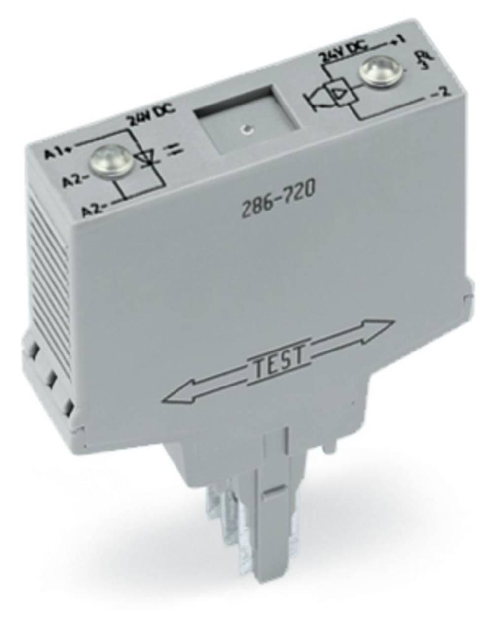 Optokopler rele 1 kos WAGO 286-720 preklopna napetost (maks.): 24 V/DC