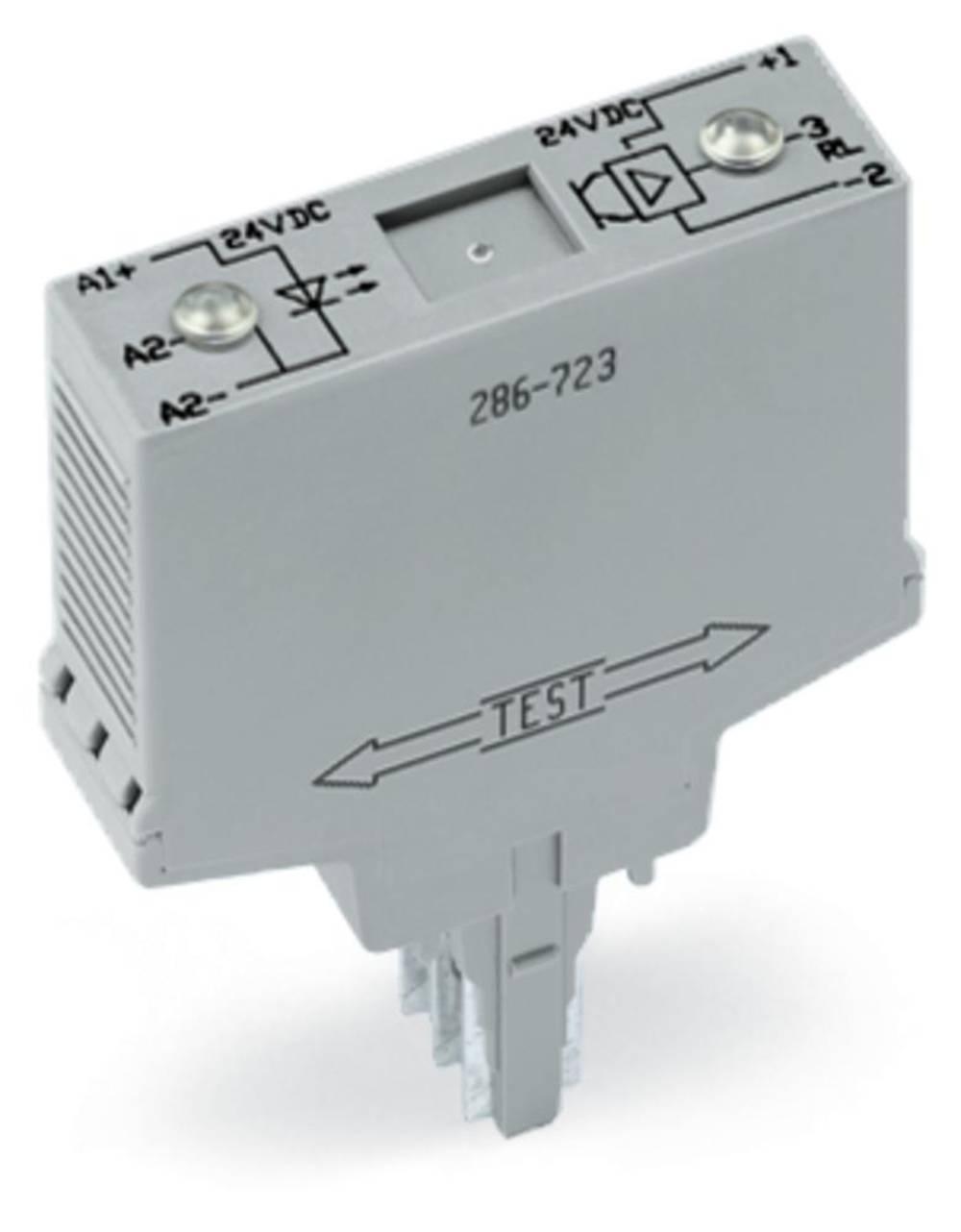 Optokoblerrelæ 1 stk WAGO 286-752/002-000 Koblingsspænding (max.): 30 V/DC