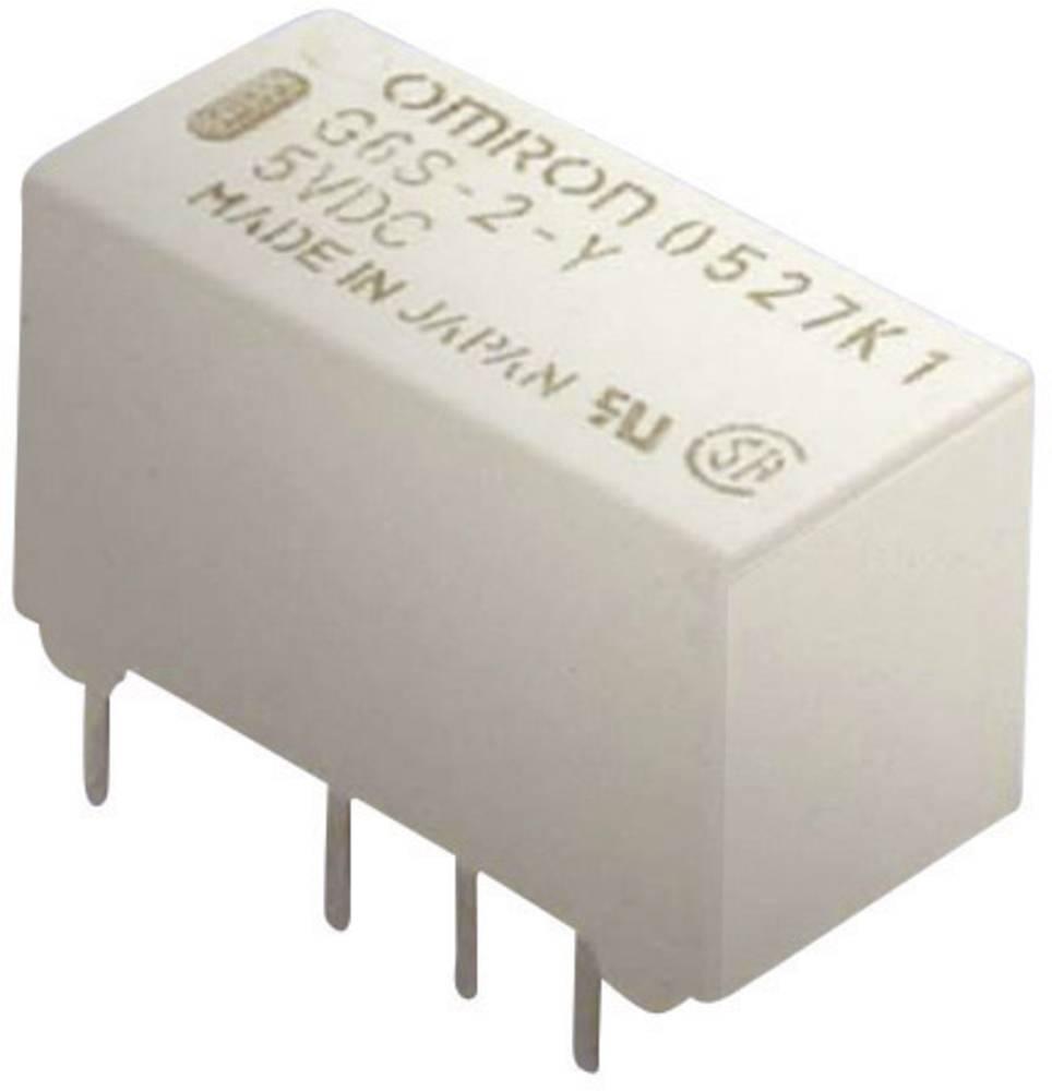 Omron G6S-2 5 VDC PCB Mount Signal Relay 5Vdc 2 CO, DPDT