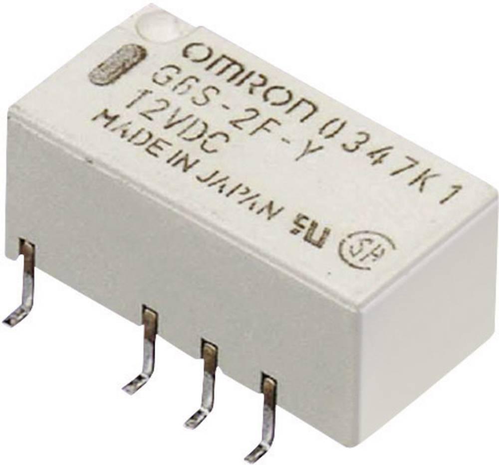 Omron G6S-2F 12 VDC PCB Mount Signal Relay 12Vdc 2 CO, DPDT