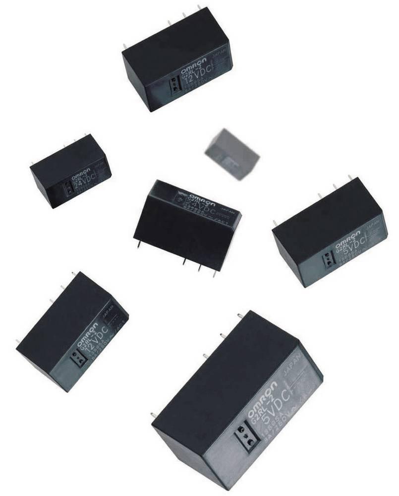 Omron G2RL-1-E-PCB jakostni rele 12V/DC, 1 menjalnik 16A/250V/AC, Max 300V/DC/440V/AC